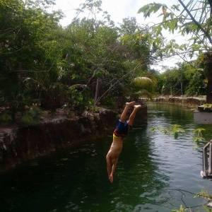 Guess I'm not a diver