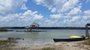 The Sijil Noh Ha lagoon.